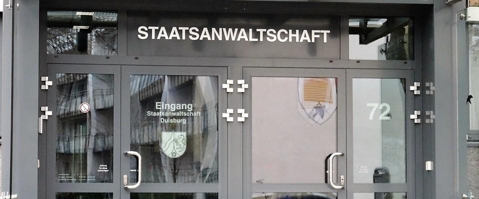 Staatsanwaltschaft Duisburg Telefonnummer